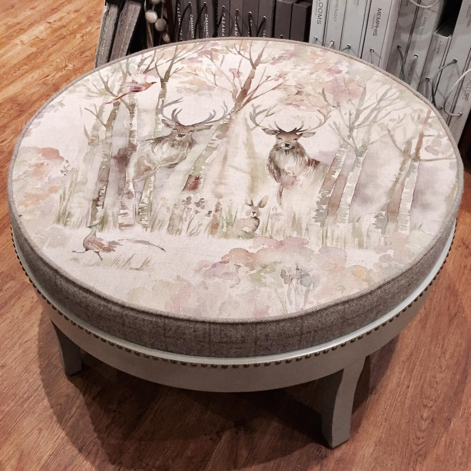 Voyage Maison Enchanted Forest Footstool Emma Kay And Co