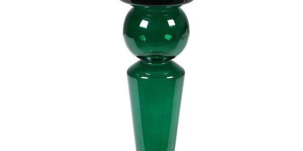 Sm Emerald Glass C/pillar