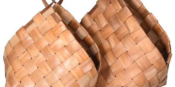 Set of 2 Metasequoia Baskets