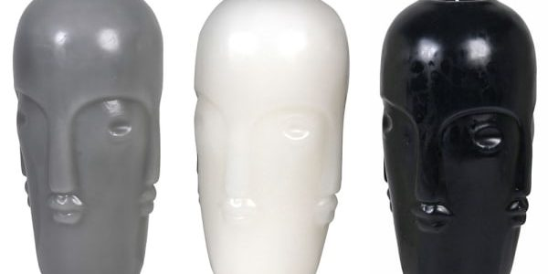 Set of 3 Large Heads Candle