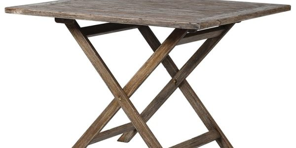 Grey Folding Table