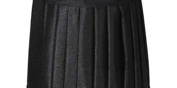 Black/gold Pleated Shade